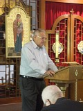 David Drillock offered sessions on worship and liturgical singing